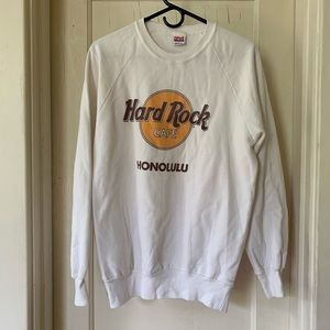 Hard Rock Cafe Honolulu sweatshirt